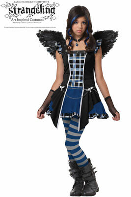 Monster High Strangeling Raven Tween Halloween Costume](Tween Monster Halloween Costumes)