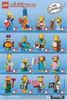 (Wanted) - The Simpsons Lego Minifigures Series 2