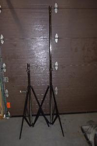 2 Heavy Duty Speaker Stands
