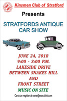2018 Stratford Antique Car Show