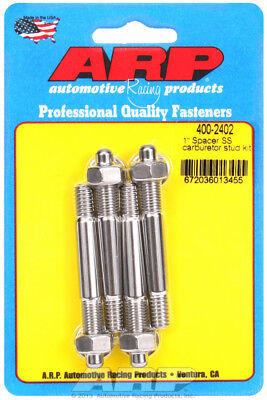 "Arp for 400-2402 1"" Spacer SS carburetor stud kit"