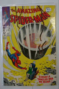Marvel Comics The Amazing Spider-man #61 1968