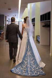 Gorgeous Designer Bridal Gown and Veil