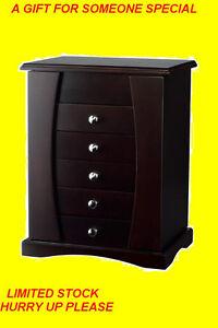 TABLE TOP JEWELLERY BOX WITH MAKE- UP MIRROR $89 ONLY Oakville / Halton Region Toronto (GTA) image 3