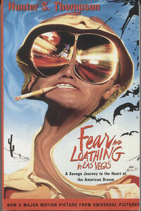 Fear and Loathing In Las Vegas-Hunter S. Thompson softcover +