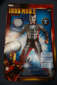 Kids Halloween Costume Iron Man 2 Size 7-8
