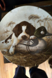 Commemorative Plate - Tired Dog