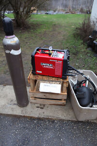 Lincoln 210 MP Power Mig & Accessories