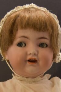 Simon & Halbig antique doll, flirty eyed