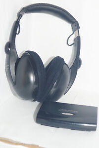 Audio-Technica Cordless Stereo Headphones (ATH CL11R)