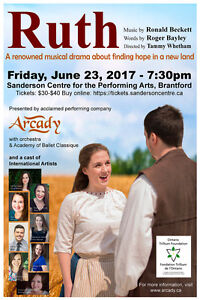 Ruth: A Musical Drama performed by Arcady