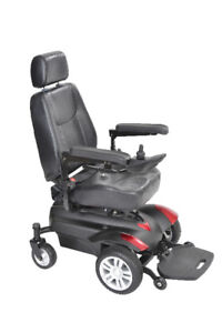 Slightly Used Drive Medical Titan Power Wheelchair with battery