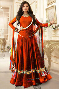 Ready-made Indian Red Suit Celebrity Style ONLY $50!!!