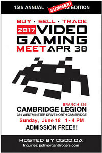 CGCC Video Game Swap Meet Sunday June 18th 1pm to 4pm