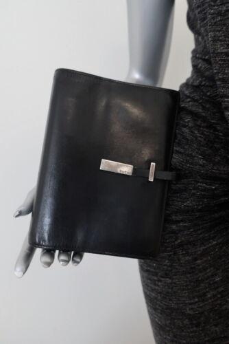 Gucci Agenda Cover Black Leather