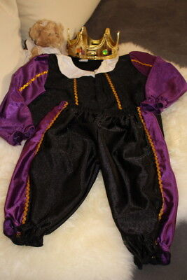 *** schönes Faschingskostüm für einen kleinen Prinzen mit - Ein Prinzen Kostüm