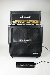 MARSHALL AVT150H, BEHRINGER 400 WATT CAB, *BOTH MINT*