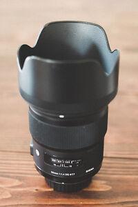 Sigma Art 50mm f/1.4 for Nikon