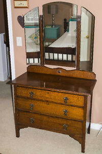 Beautiful Antique Dressing table and bureau