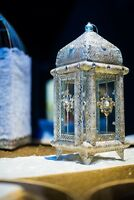 lantern centerpiece rental