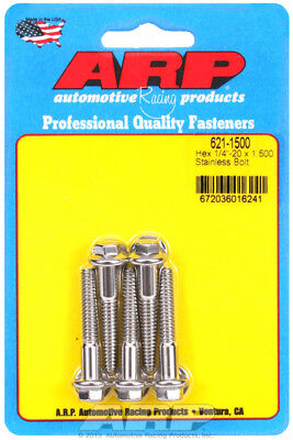 Arp for 621-1500 1/4-20 x 1.500 hex SS bolts