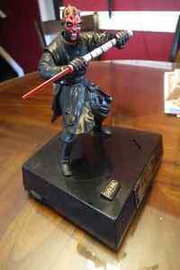 STAR WARS DARTH MAUL Talking and moving Piggy Bank Windsor Region Ontario image 1