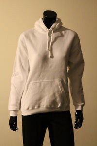 WOMENS BLANK PULLOVER AND ZIP UP HOODIES by the Lot