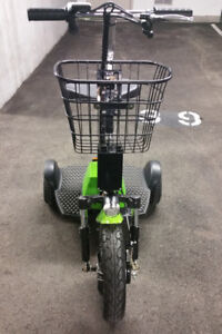 Electric, 3 Wheel Scooter, Green, $ 600.00 Firm !