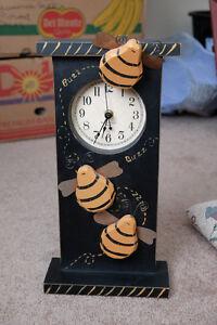 Primitive Bumblebee Clock