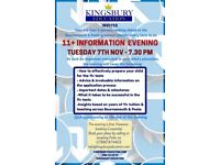 Free 11+ Information Evening for Parents - B'mouth & Poole Grammar School System