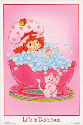 Strawberry Shortcake Life - POSTER: STRAWBERRY SHORTCAKE - SMOOTH - LIFE IS ... - FREE SHIP #FL3321S   RW8 K