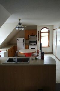 1  Bedroom Upper Large Apartment for Rent