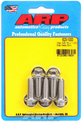 Arp for 623-1000 3/8-16 x 1.000 hex SS bolts