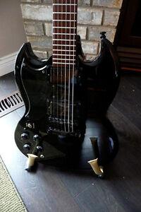 LEFT Hand Epiphone G-400 Tony Iommi Edition.