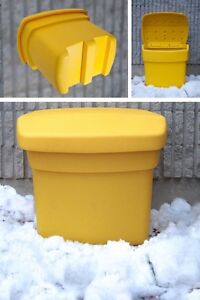 Commercial Salt and sand bins - Brand new!