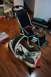 stroller, highchair, walker, bounce chair