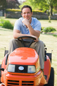 Grass Cutting Tractor and Zero Turn Larger Jobs