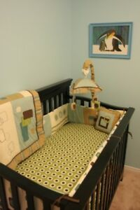 Nursery Bedding Set & Accessories Excellent Condition
