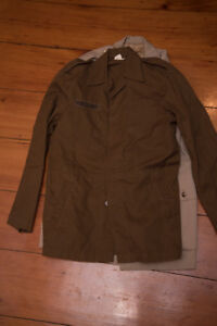 Large lot of military uniforms