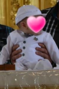 Ensemble de baptême