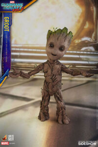 Hot Toys Groot GOTG Vol 2. 1/1th Action Figure in store!