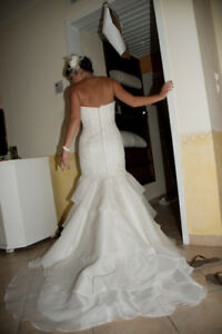 Melissa sweet size 2 Wedding gown
