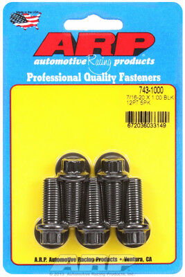 Arp for 743-1000 7/16-20 x 1.000 12pt black oxide bolts