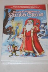 DVD THE STORY OF SANTA CLAUS, NEW $2