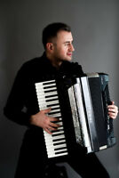 Accordion Player for Italian Parties!