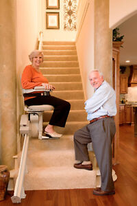 STAY IN YOUR HOME - Elan Straight Stairlift