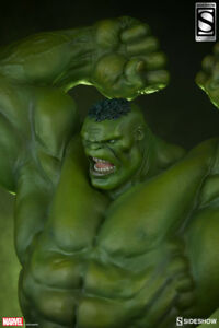 Sideshow HULK Statue EXCLUSIVE Version Brand New