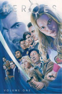 HEROES VOL. 1 HARDCOVER GRAPHIC NOVEL