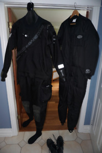 Bare Trilam HD Tech Dry Suit- barely used and in great shape