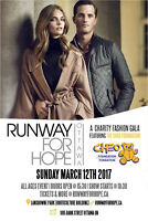 RUNWAY FOR HOPE IN SUPPORT OF CHEO | SUNDAY MARCH 12 , 2017